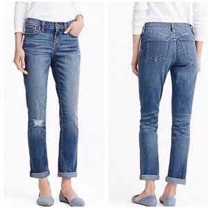 J.crew Jeans Boyfriend In Colorado Wash Size 28